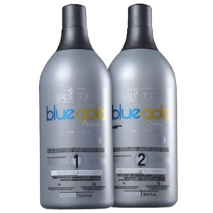 Salvatore Blue Gold Premium - Kit Escova Progressiva 27e2f6ca84
